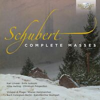 COMPLETE MASSES 4 CD NEU SCHUBERT,FRANZ