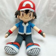 "Anime 30cm/12"" Pokemon Ash Ketchum Stuffed Plush Toy Doll Collection Xmas Gift @"