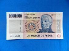 1981 Argentina 1 Million Pesos Banknote *P-310*        *UNC*