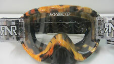 Rip N Roll Híbrido Motocross MTB Mountain Bike Roll Offs Gafas tribal RG32
