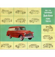 1956 Chevy Panel Truck Sales Brochure