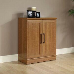 Sauder Homeplus Base Cabinet in Sienna Oak Finish storage