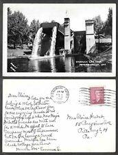 1952 Canada Real Photo Postcard - Peterborough, Ontario - Hydraulic Lift Dock