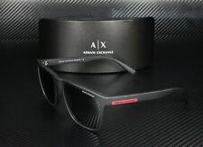 Armani Exchange AX4080S 80786G MATTE BLACK LT GREY MIRROR BLACK Men's Sunglasses