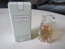 Miniature EDT L'Eau Couture d'Elie Saab 7,5 ml. Neuve + Boîte.