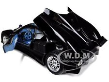 PAGANI ZONDA C12 BLACK 1/18 DIECAST MODEL CAR BY MOTORMAX 73147