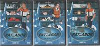 PATLABOR LA SERIE TV LOTTO 3 DVD 03 - 05 - 08 YAMATO HOBBY & WORK NUOVI