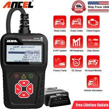 Auto OBD2 Scanner Car Diagnostic Scan Tool Code Reader Check Engine Light Fault