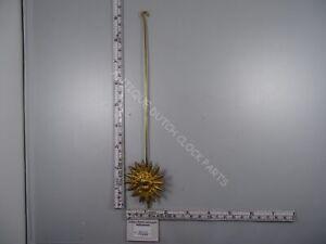 DUTCH SALLANDSE CLOCK PENDULUM WITH HOOK FOR UNMARKED CLOCKWORKS SCHATZ