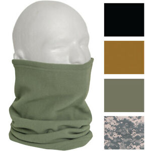 Polar Fleece Military Neck Gaiter Warmer Cold Weather Cover Scarf Guard Neckwear
