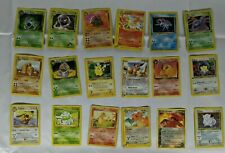 18 Pokemon Card Lot ☆ Commons 90s 00s 1st Edition Rocket League  Lightly Played