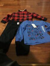 brand new carter's boy 3 pcs winter outfit set size:18months