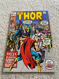 The Mighty Thor  179  F/VF  7.0  High Grade  Loki  Odin  Balder  Jane Foster