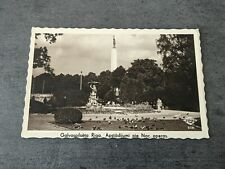 More details for rare rp postcard riga monument 1940 olympics slogan cancel & 2 wermacht cancels