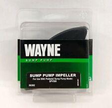 New Wayne #56392 Sump Pump Impeller OEM Replacement Part For SPV500 BPV500