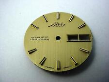 Mido Vintage Watch Dial Gold Ocean Star Datoday 29.31mm Stick Mrkrs Day Date Wnd