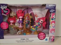 My Little Pony Equestria Girls Minis Pinkie Pie Switch a Do Salon Set G4 FiM MLP