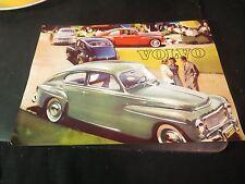 Original 1959 Volvo PV 544 Sales Leaflet/ Brochure w/  Spec Sheet