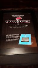 Vangelis Rare Original Academy Awards Promo Poster Ad Chariots of Fire!
