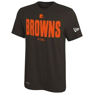 New Era Football NFL Men's Cleveland Browns Grids Primary Team Color T-Shirt