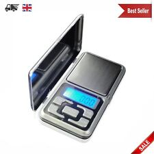 Pocket Digital Scales Jewellery Gold Weighing Mini LCD Electronic 0.1g 500g NEW