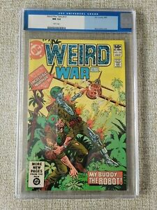 WEIRD WAR TALES #101, 1st G.I. Robot 2nd Highest Graded! CGC NM 9.4, WHITE Pages