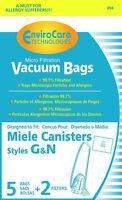 Free S/H - Miele Type G/N Vacuum Cleaner Bags - 5 Bags & 2 filter - Generic