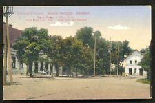 Banatski Karlovac Hotel Railway Station Serbia ca 1910