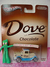 2013 POP CULTURE Dove Chocolate '29 FORD PICK-UP beige Real Riders Hot Wheels