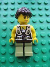 Lego DINO Female HERO Minifigure 5887 Dino Defense HQ Rare figure