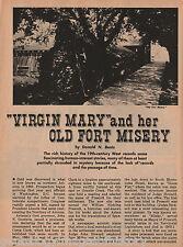 Prescott, Arizona - Virgin Mary And Her Old Fort Misery+Bendt,Ashurst,Goodwin