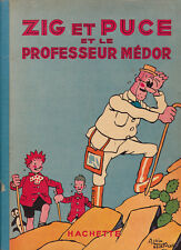 Zig et Puce et le professeur Médor. SAINT OGAN 1941 - Rare édition originale