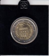 San Marino 2 Euro 2005 Kursmünze stempelglanz - in Münzrähmchen