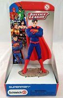 """Schleich - Justice League Superman Figure (4"""") New"""