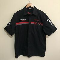 Honda HRC CBR Racing Pit Shirt Mens Medium