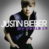 My World 2.0 by Justin Bieber (CD, Mar-2010, Def Jam (USA)) CD ONLY, NO CASE