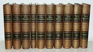 BREHMS THIERLEBEN,ALLGEMEINE KUNDE DES THIERREICHS,10 BÄNDE,ILLUSTRIERT,1876,RAR