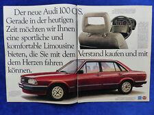 389) Audi 100 Cs - Advertisement Advertisement Advertisement 1982