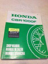 Honda CBR1000F CBR1000 F CBR 1000 revisión técnica taller servicio Manual