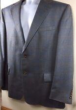 Oscar De La Renta Mens suit sports coat blazer jacket gray