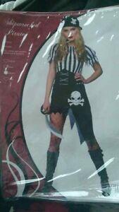 Shipwreaked Pirate Halloween Costume Fancy Costume Woman Size M