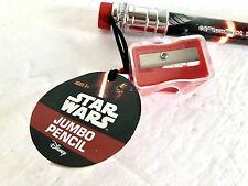"""Star Wars Kylo Ren Jumbo Pencil with Eraser 12"""" New"""