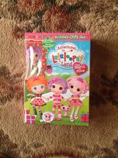 TargetExclusive HTF Mini Lalaloopsy Pillow Featherbed Christmas Doll/DVD set MIP