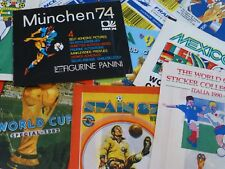 World Cup Sticker Packs - Panini/Merlin/FKS/Mammoth Fleer