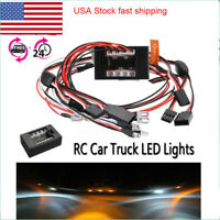 1:10 RC Model Car truck LED Light Kit 12 LED Flashing Head Light Lamp System