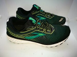 Brooks Ghost green casual  trainers size 10