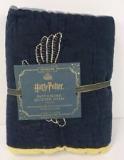 POTTERY BARN KIDS HARRY POTTER PATCHWORK QUILTED SHAM EURO  #6438