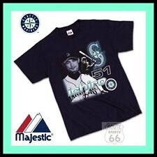 ICHIRO SUZUKI 51 SEATTLE MARINERS FREE SHIP NEW CLASSIC SHIRT NEW MAJESTIC 2X
