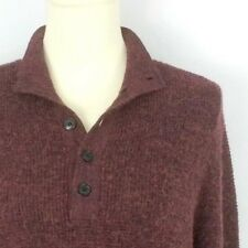 THEORY men s L sweater -  275 rust brown Byrin merino wool blend pullover  large 701a10a91