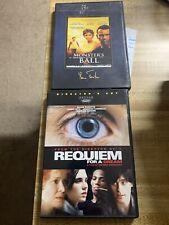2 Dvd Lot: Monster's Ball & Requiem for a Dream (Director's Cut)